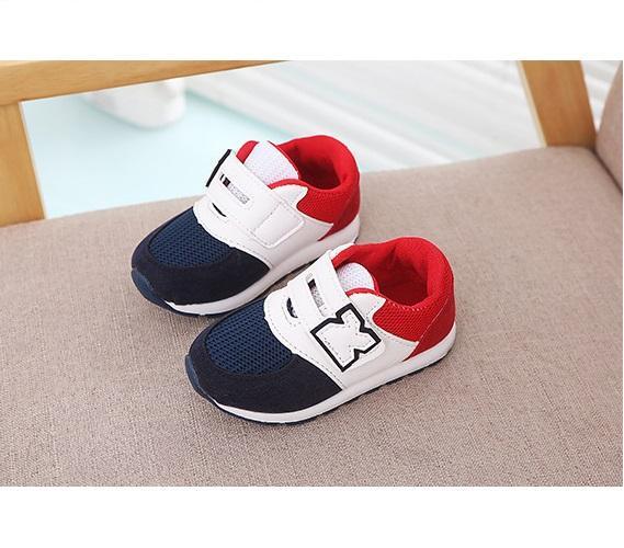 Hình ảnh Giày cho bé trai Size 21-25 RS141 (Đỏ Xanh)
