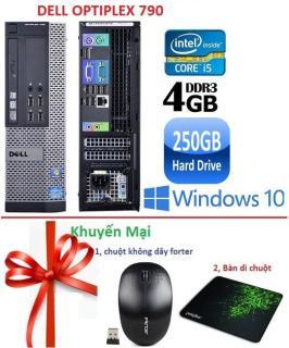 Máy tính đồng bộ Dell Optiplex 790 core i5 RAM 4GB HDD 250GB -Tặng Chuột không dây , Bàn di chuột,Bảo Hành 24 Tháng -Hàng nhập khẩu thumbnail