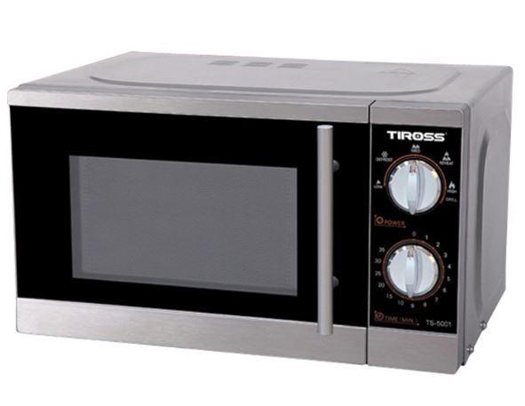 Lò Vi Sóng Có Nướng Tiross TS5001 - 20L (Xám)