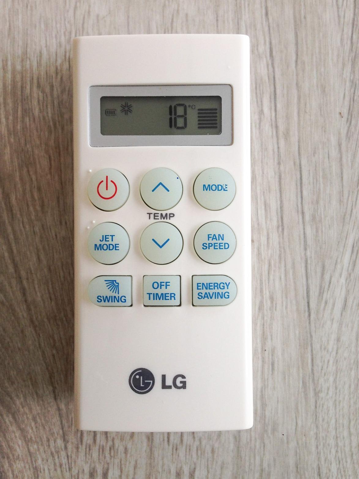 Remote Điều Khiển Máy Lạnh, Máy Điều Hòa LG S09EN2, LG S09EN2N, LG S09ENM, LG AKB73756203