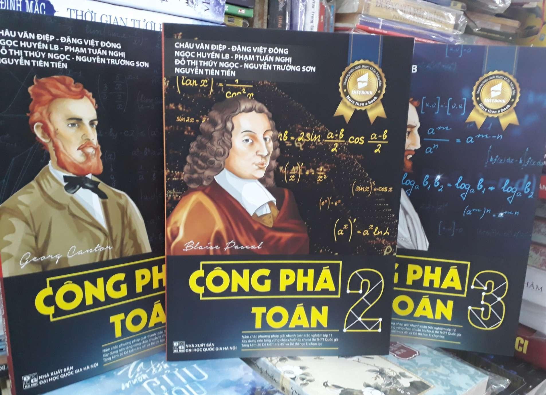 Mua Combo 3 cuốn: Công phá Toán 1.2.÷
