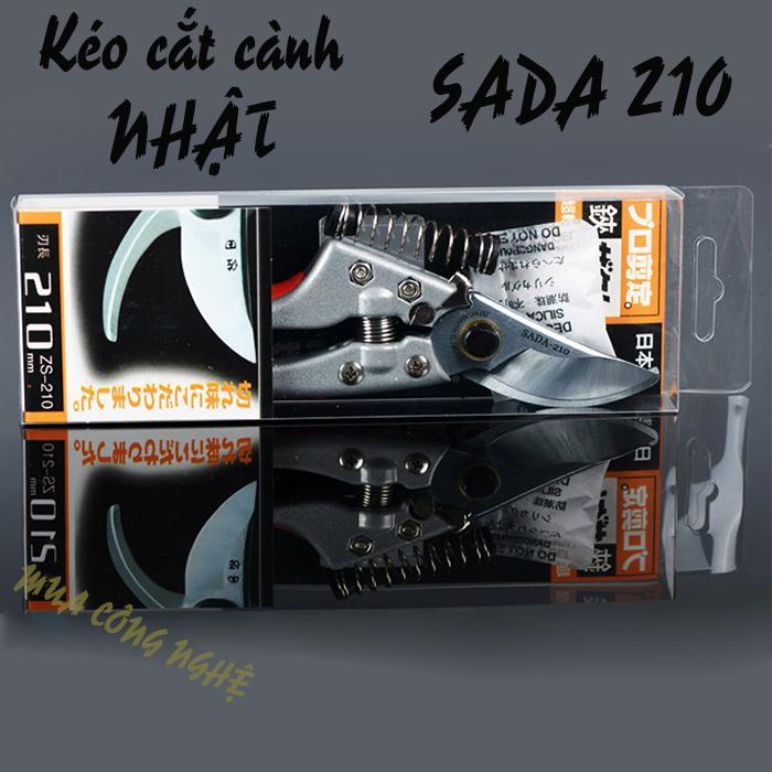 Dụng cụ cắt cành cây - kéo cắt cành  SADA 210