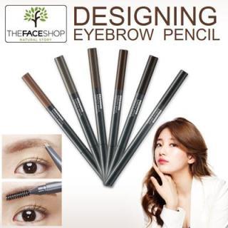 Chì Kẻ Mày 2 đầu The Face Shop Designing Eyebrow Pencil - 0.3g thumbnail