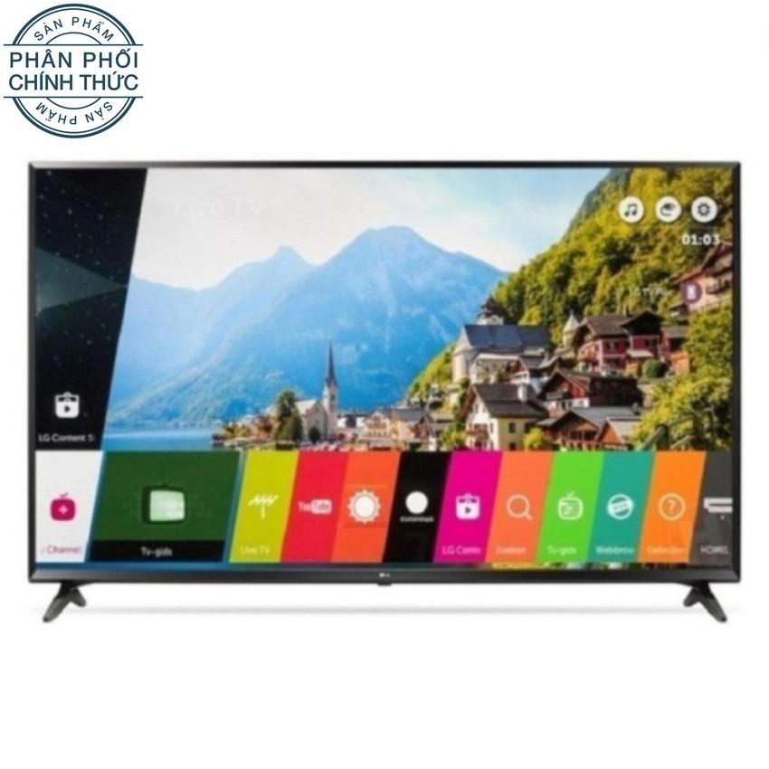 Smart TV LED LG 55 inch UHD 4K HDR - Model 55UJ632T (Đen) - Hãng phân phối chính thức