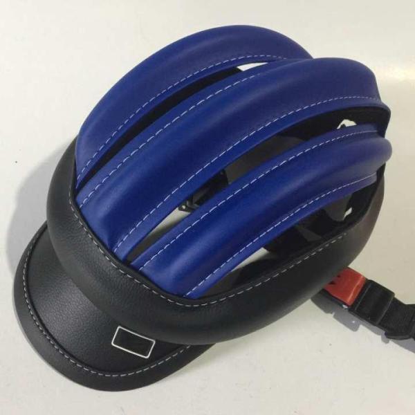 nón bảo hiểm 3 sọc da đen xanh