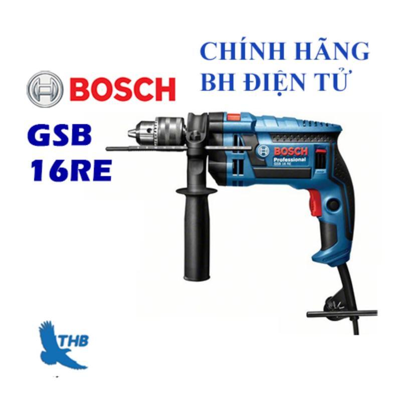 Máy khoan động lực Bosch GSB 16 RE cải tiển + Tặng hộp nhựa