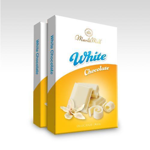 Hình ảnh Socola thanh 50g trắng | Mark & Milk Chocolate