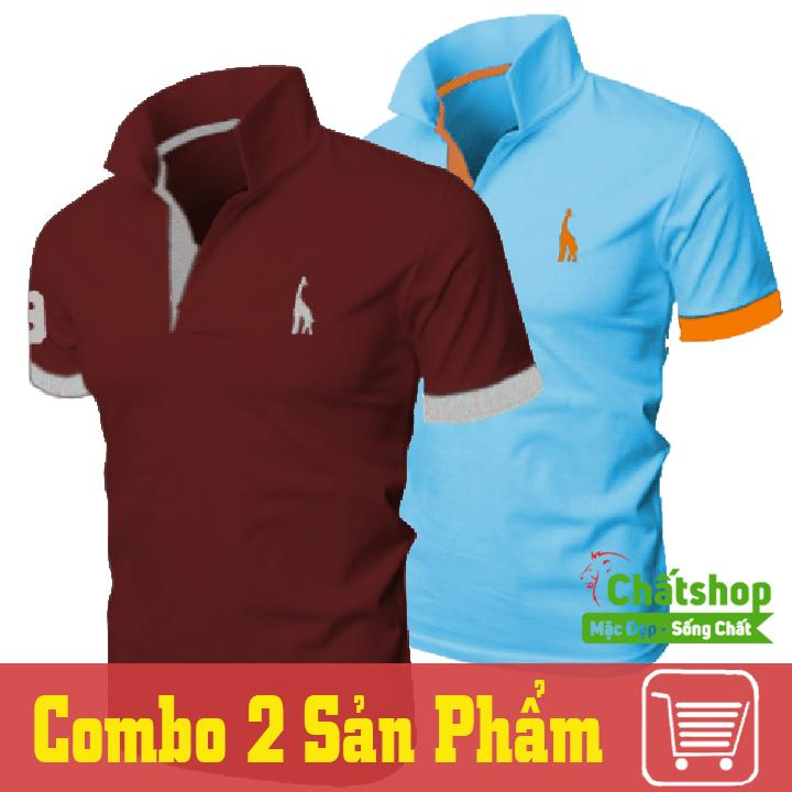 Mua Combo 2 Ao Thun Polo Hươu Đỏ Xanh Ngọc Chất Shop Nguyên