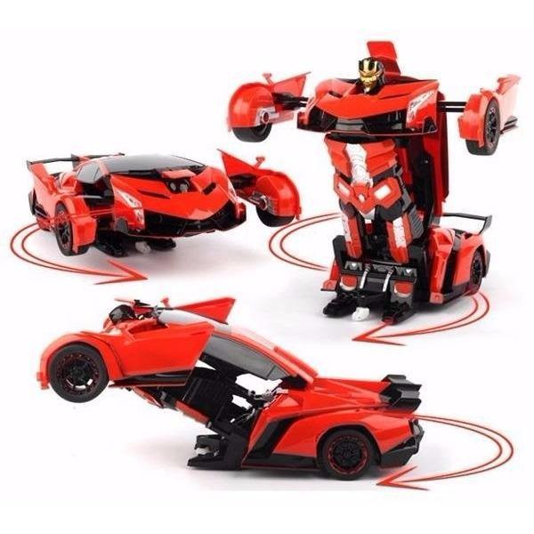 Bán O To Biến Hinh Thanh Robot Transformers Điều Khiển Từ Xa Có Thương Hiệu