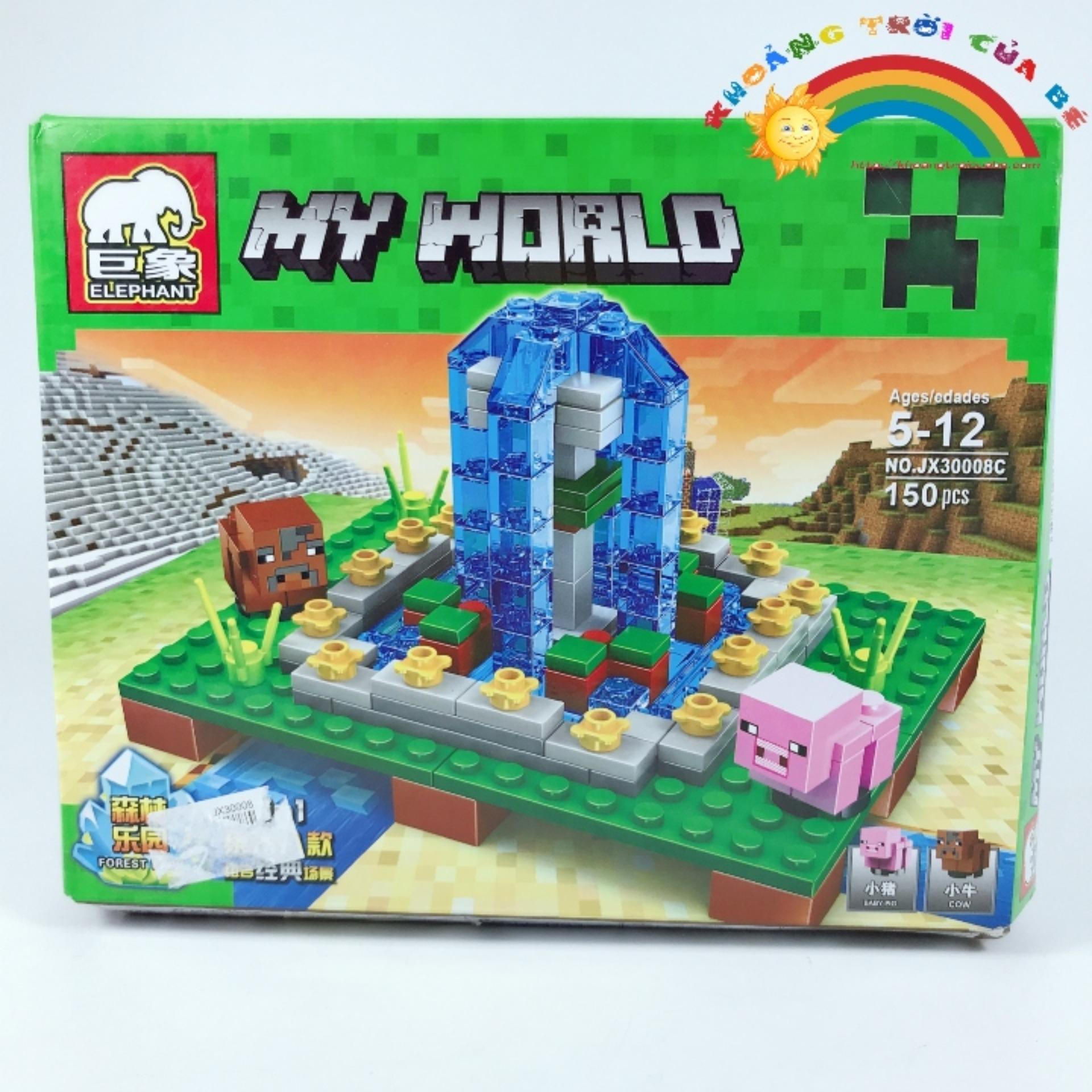Hình ảnh Lắp Ghép My World JX30008 KA879