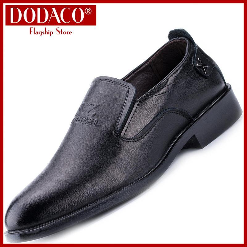 Xả hàng - Giày tây nam thời trang công sở nam nhiều mẫu DODACO GM2