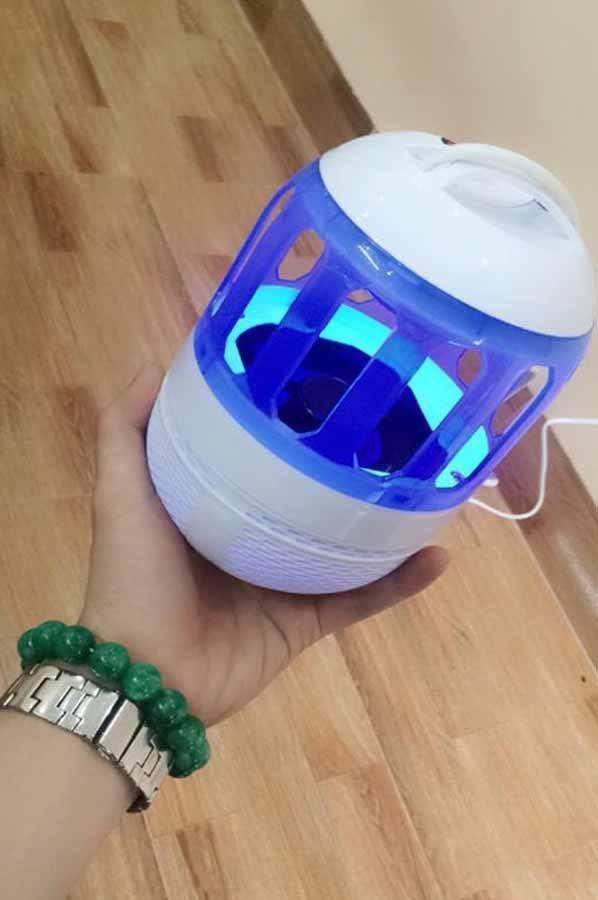 Đèn ngủ bắt muỗi thông minh không hóa chất an toàn với người sử dụng