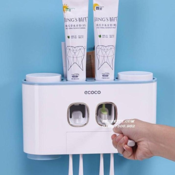 Bộ nhả kem đánh răng coco