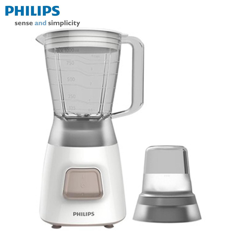 Hình ảnh Máy xay sinh tố Philips HR2056 (Trắng) - Hàng nhập khẩu