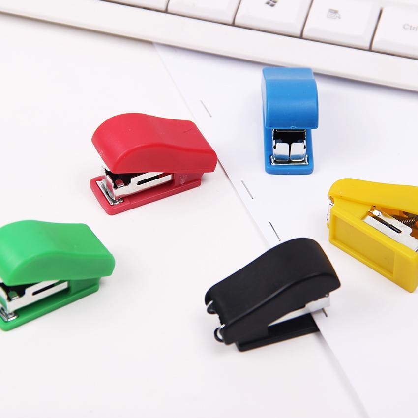 Mua 4pcs Super Kawaii Mini Small Stapler Useful Mini Stapler Staples Set Office Binding Stationery - intl