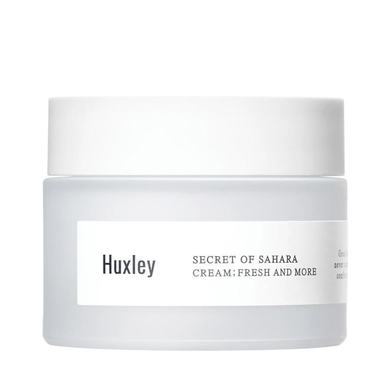Kem dưỡng da ẩm mượt dạng gel cao cấp dành cho da khô da dầu chiết xuất xương rồng Huxley Cream Fresh and More 50ml