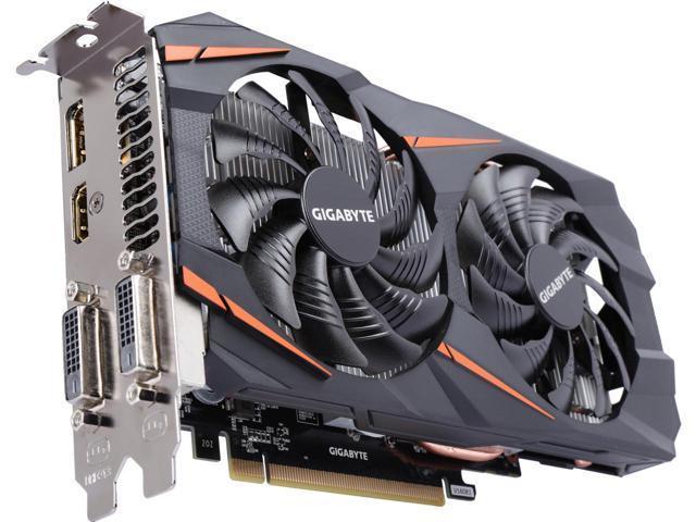 Hình ảnh VGA GIGABYTE GV-N1060WF2OC-3GD (GeForce GTX 1060)
