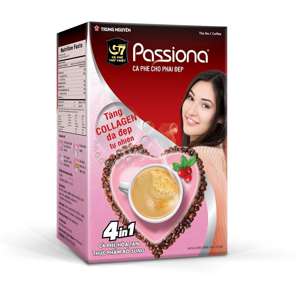 Combo 3 hộp  Cà phê cho phái đẹp - G7 Passiona