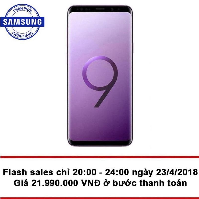 Samsung Galaxy S9 + 64GB Ram 6GB (Tím Lilac) - Hãng Phân phối chính thức + Tặng phiếu mua hàng 2.000.000 VNĐ
