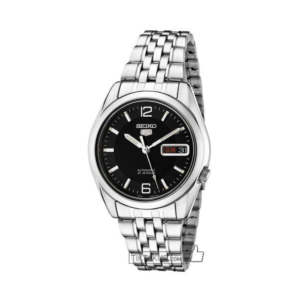 Đồng hồ nam dây thép Seiko 5 SNK393 Automatic ( Đen)