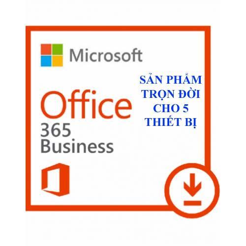 Hình ảnh Microsoft Office 365 2016 tài khoản trọn đời cho PC/MAC&Mobile 5 thiết bị cực kỳ uy tín.