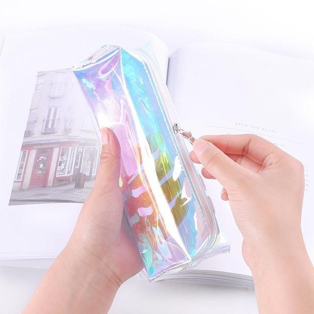 Mua Bóp viết (khay đựng bút) hologram nhiều màu Thời Trang B&T