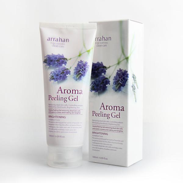 Gel tẩy tế bào da chết chiết xuất từ hoa oải hương - ARRAHAN Aroma White Peeling chính hãng