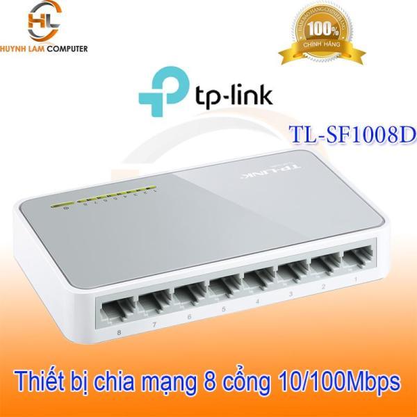 Giá Switch 8 port - Bộ chia mạng 8 cổng TPLink SF1008D FPT phân phối