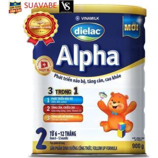 Sữa bột Dielac Alpha Step 2 900g thumbnail