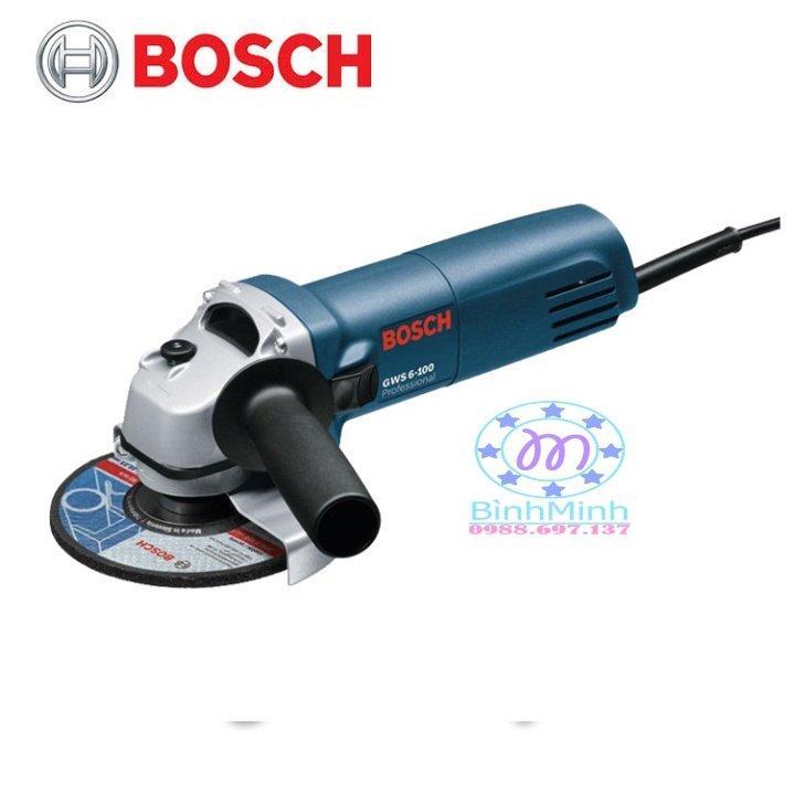 Máy cắt BOSCH GWS.6-100 670W máy cắt cầm tay Made in MALAYSIA