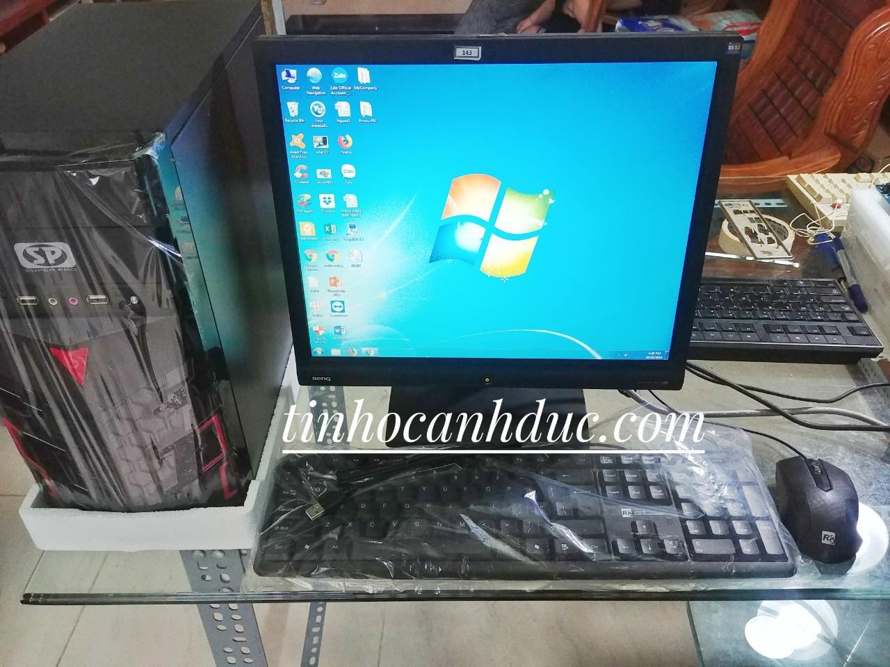 Bộ Máy PC ADA1L17 + Màn Hình LCD 17 Tặng Phím Chuột NEW, đáp ứng Nhu Cầu Lướt Web, Xem Phim, Nghe Nhạc, đọc Báo, Soạn Thảo Văn Phòng Giảm Cực Khủng