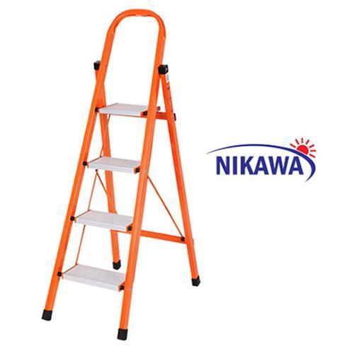 Thang Nhôm Ghế Nikawa NKS04 Nhật Bản - 4 Bậc 92cm