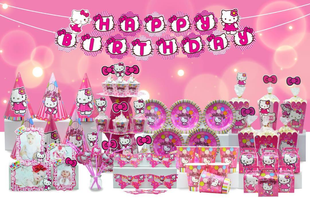 Hình ảnh Miniset sinh nhật chủ đề kitty