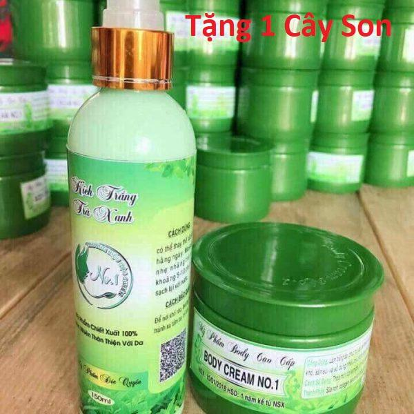 Hình ảnh Combo set kem dưỡng và kem kích trắng Body Cream no1