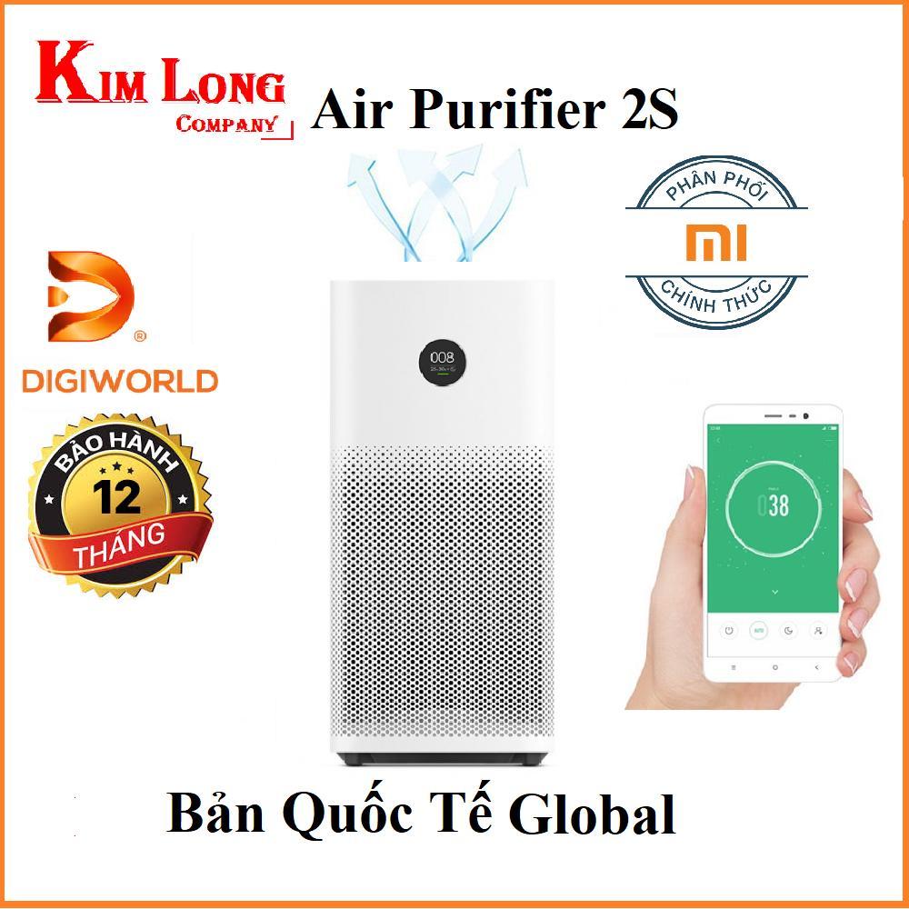 Bảng giá Máy lọc không khí Xiaomi Mi Air Purifier 2S ( Hãng Phân phối chính thức )