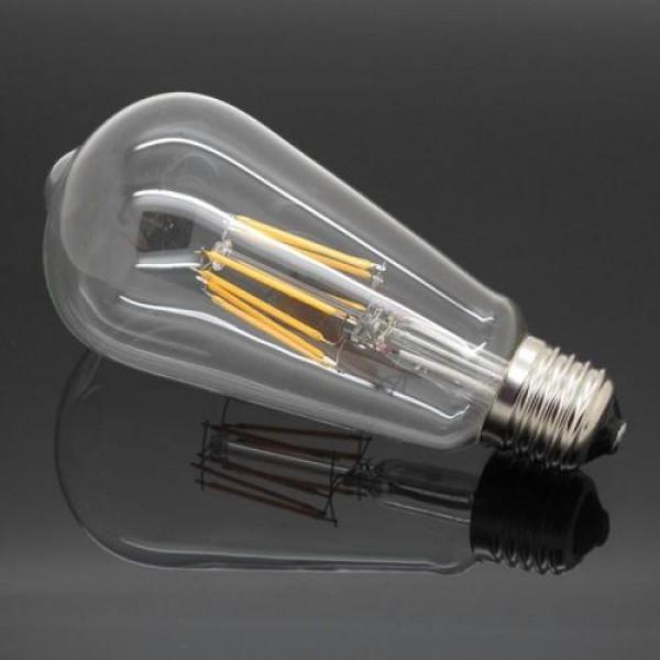 Bóng Đèn Led Edison Vintage T64 4W E27 220V - Ánh sáng vàng
