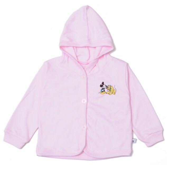 Áo khoác trơn thêu hình Miatop(Giữ ấm cho bé trai và gái từ 3-24 tháng tuổi) Nhật Bản