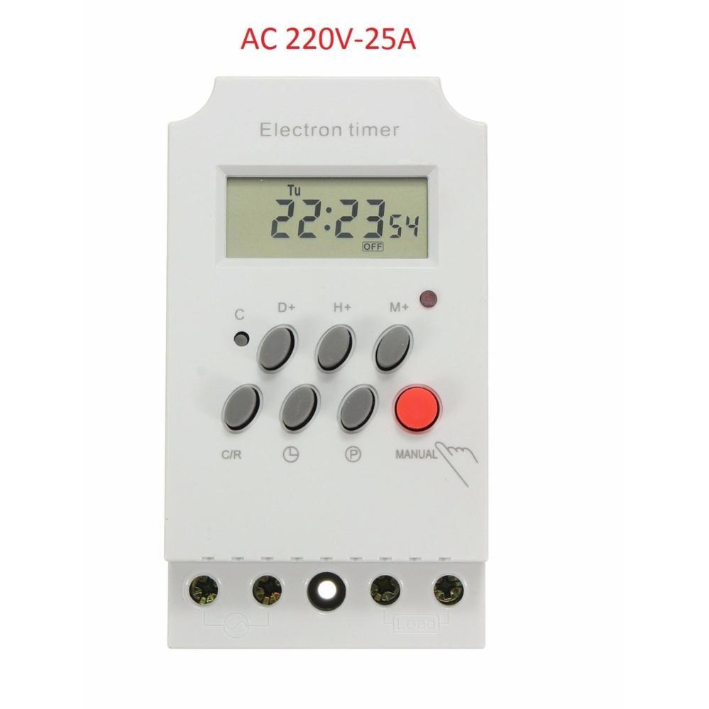 Hình ảnh Công tắc hẹn giờ KG316T-II tắt mở tự động chuẩn công nghiệp 25A - Loại 1