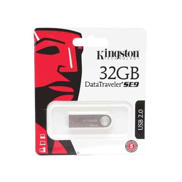 USB 2.0 Kingston DataTraveler SE9 32GB (bạc)