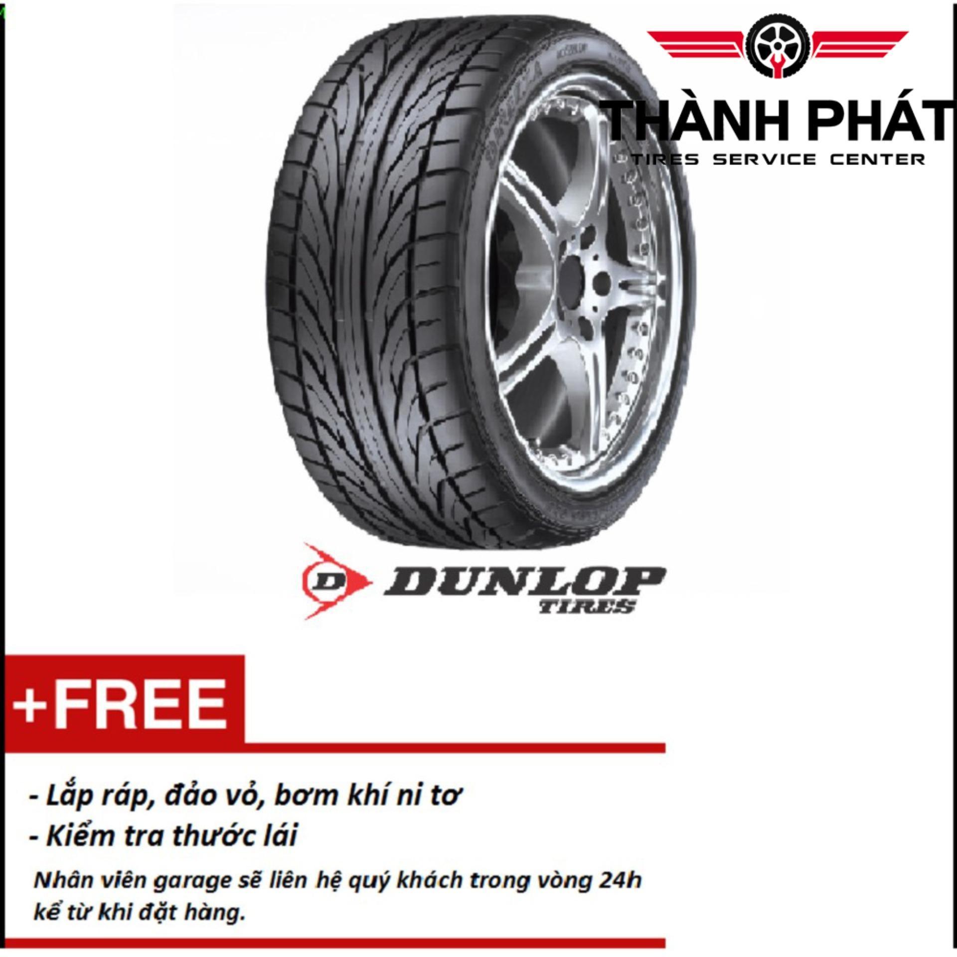 Lốp xe ô tô Dunlop SP T1 Indo 165/60R14 - Miễn phí lắp đặt