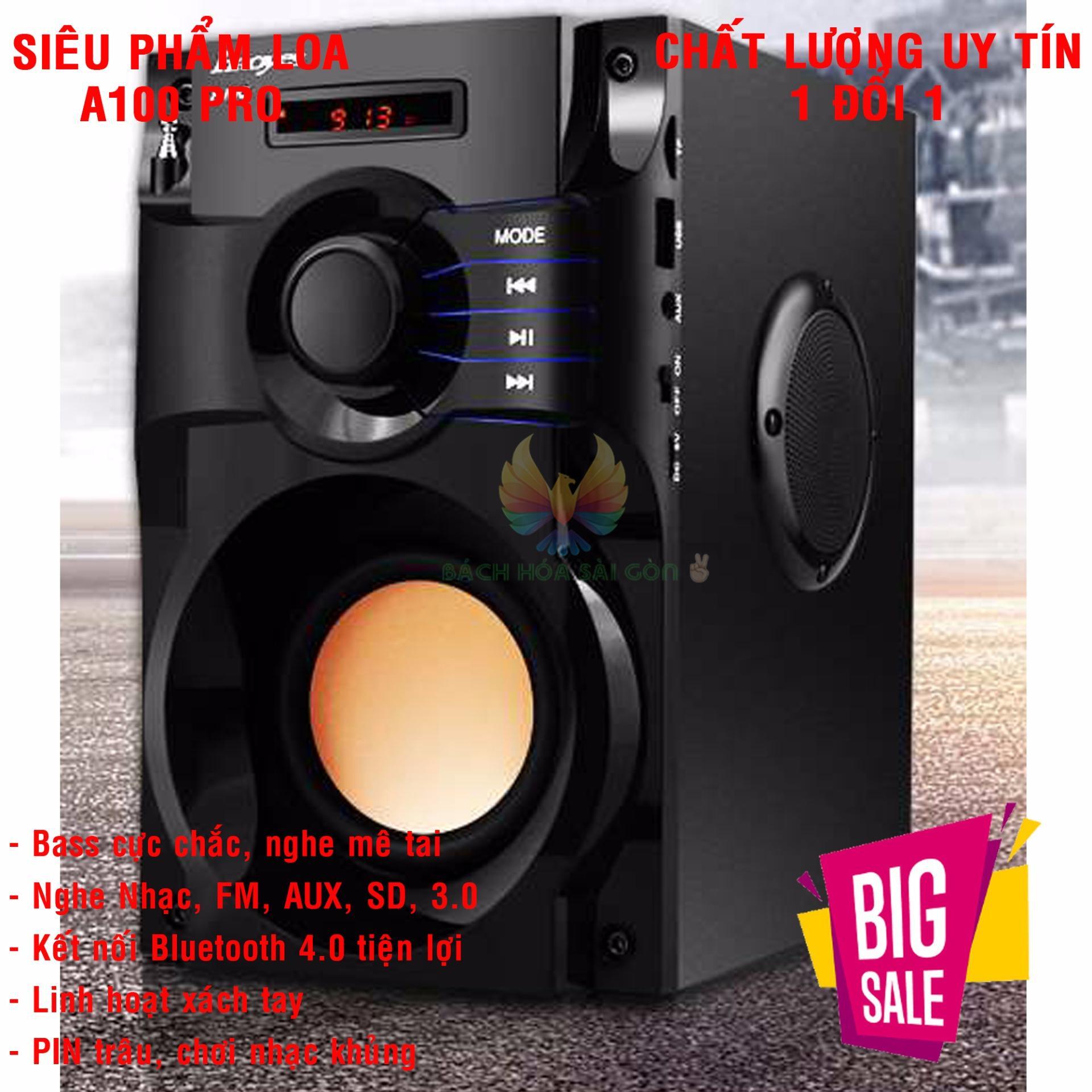 Hình ảnh Dan Am Thanh Karaoke Gia Dinh Loa Bluetooth Xách Tay Kiểu Dáng Nhỏ Gọn, Góc Cạnh Tinh Tế - Âm Thanh Siêu Bass Siêu Trầm - Hứa Hẹn Là Sản Phẩm Đáng Mua