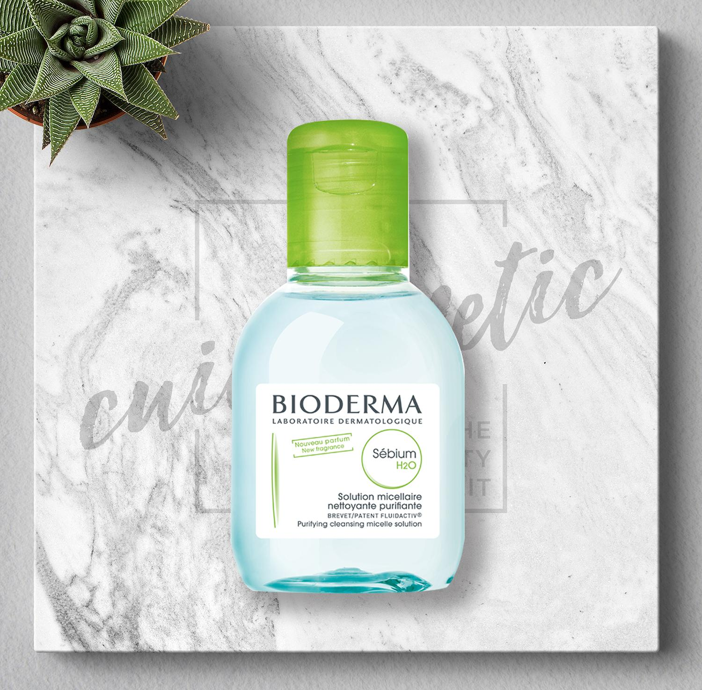 Mua Nước Rửa Mặt Va Tẩy Trang Cho Da Dầu Va Hỗn Hợp Bioderma Sebium H20 100Ml Bioderma