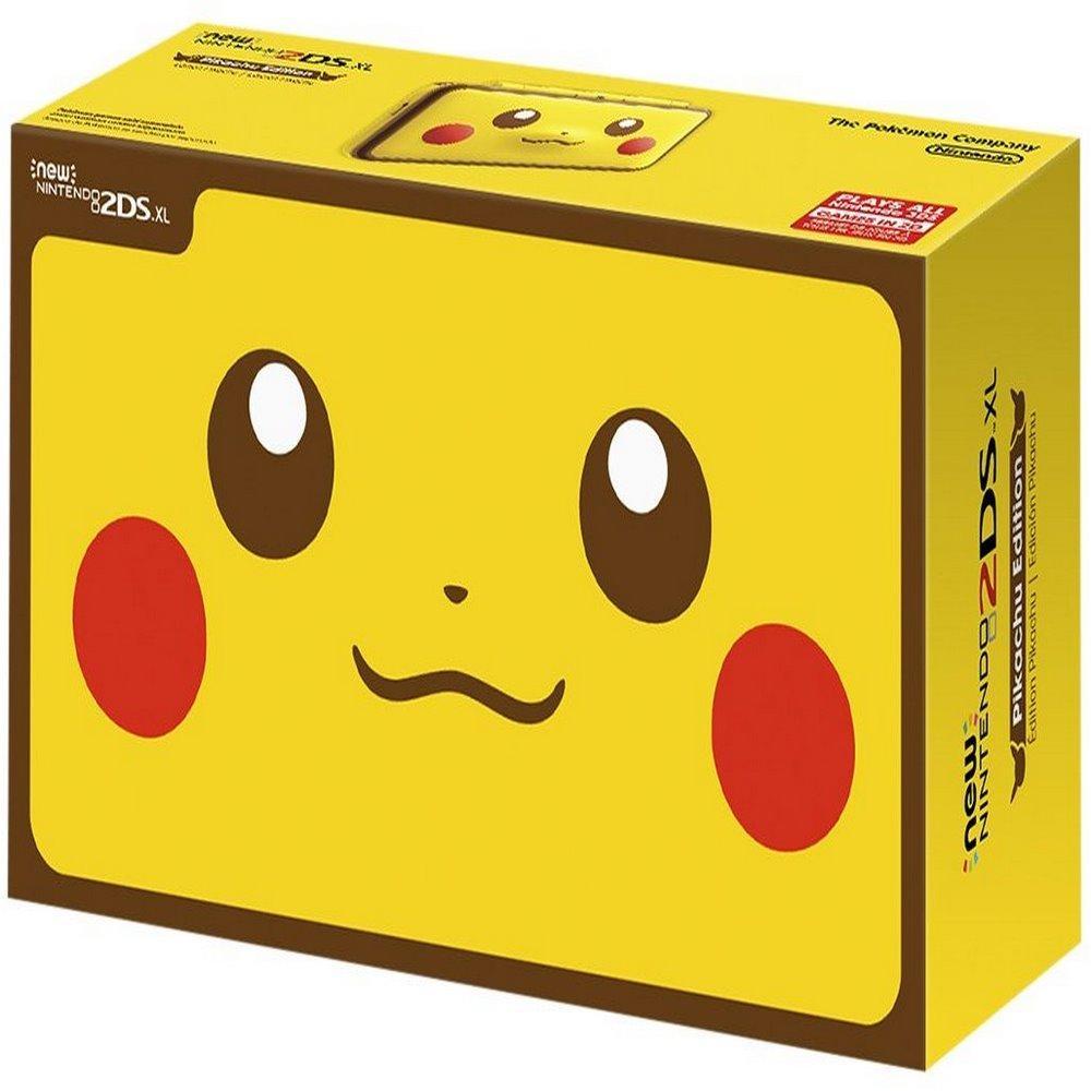 Hình ảnh Máy Chơi Game Nintendo New 2DS XL Pikachu Edition và Thẻ Nhớ 32G (Hacked)