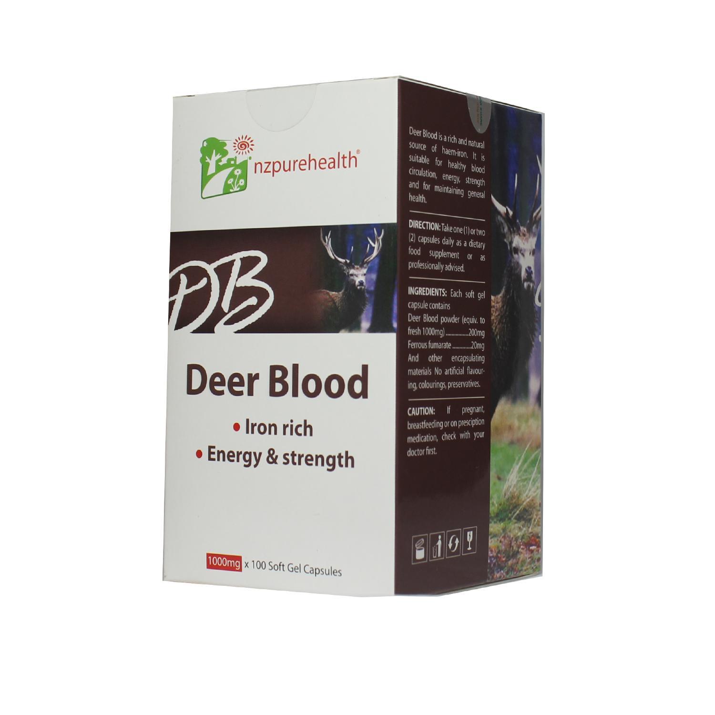 Viên bổ máu, bổ sắt - Deer blood Nzpurehealth