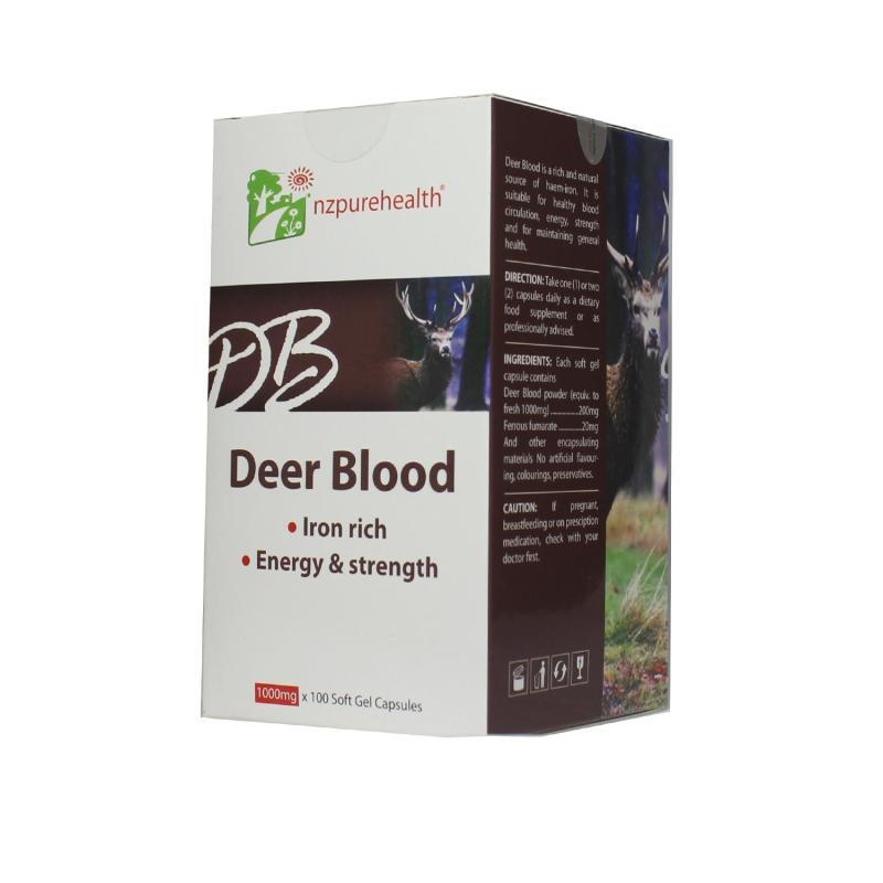 Viên bổ máu, bổ sắt - Deer blood Nzpurehealth cao cấp