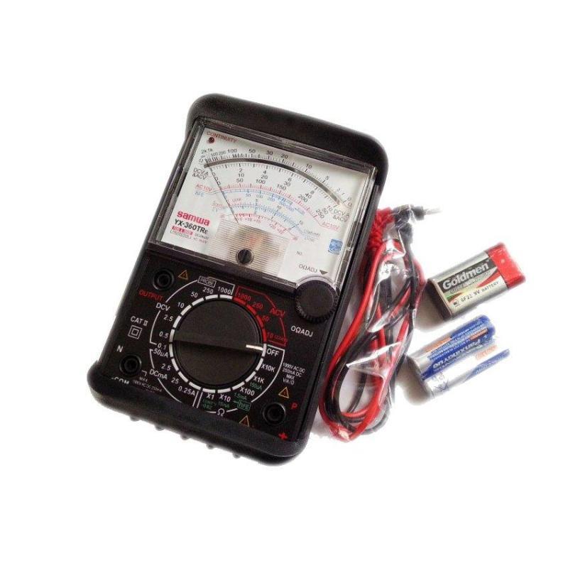 Đồng hồ đo vạn năng kim SAMWA YX-360tr (có bao da và loa báo)
