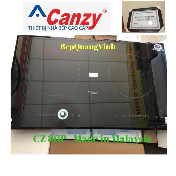 Bếp từ đôi Canzy CZ 86P nhập khẩu Malaysia