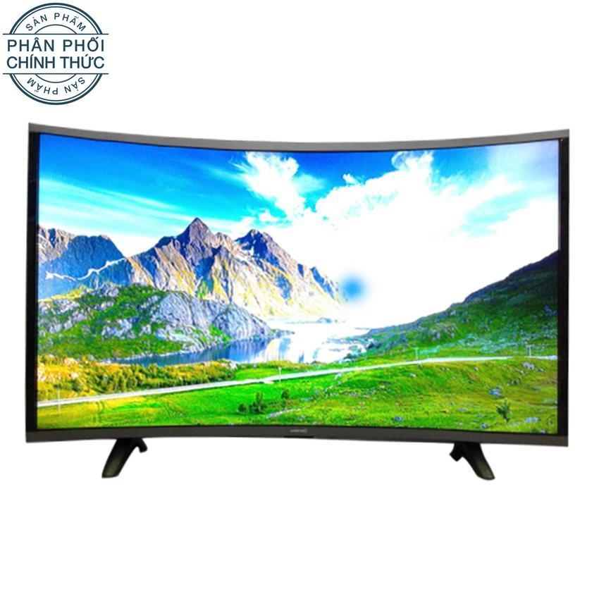 Hình ảnh Smart TV Asanzo màn hình cong 32 inch HD - Model AS32CS6000 (Đen)