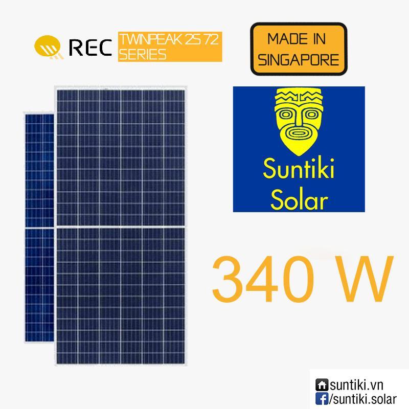 Tấm pin năng lượng mặt trời REC 340W 72 cell (Solar Panels) 340W (trên 150 tấm)