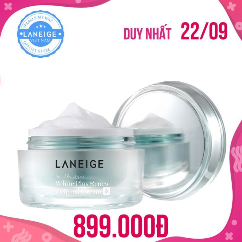 Kem dưỡng trắng ngày và đêm Laneige White Plus Renew Original Cream 50ml